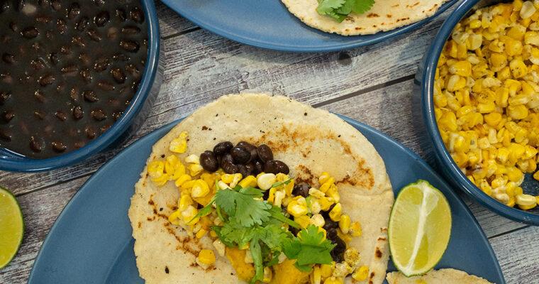 Vegan Chicken fajita Tacos